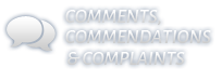 Comments, Commendations & Complaints